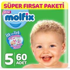 Molfix Süper Fırsat Paketi 5 No 11-18 Kg 60 Adet