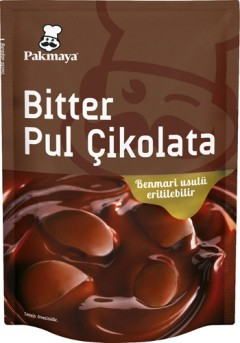 Pakmaya 90 Gr Bitter Pul Çikolata