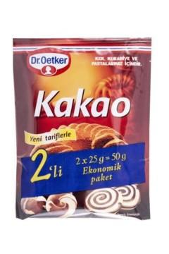 Dr.Oetker 2'li Kakao 50 Gr