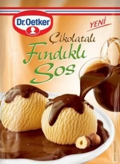 Dr.Oetker 128 Gr Fındıklı Çikolatalı Sos