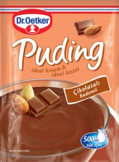 Dr.Oetker 104 Gr Bademli Çikolatalı Puding
