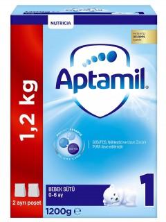 Aptamil Devam Sütü 1 Numara 1,200 gr
