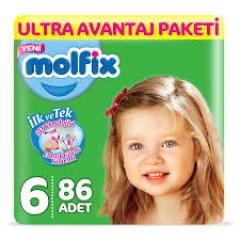 Molfix Ultra Avantaj Paketi 6 Numara 15+ Kg  86 Adet