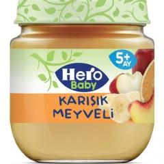 Hero Baby 125G Karışık Meyveli Kaşık Mama