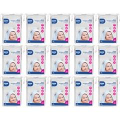 Wee Baby Bebek Temizleme Pamuğu 60 Adet 15'li Set