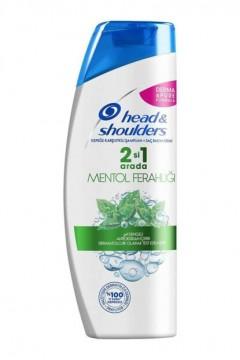 Head&Shoulders Mentol Ferahlığı 2'si 1 Arada 400 ml Şampuan