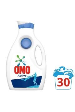 Omo Active Sıvı Çamaşır Deterjanı 30 Yıkama 1950 Ml