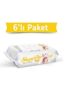 SLEEPY SENSİTİVE 90 YAPRAK 6 LI PAKET ISLAK HAVLU