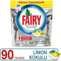 Fairy Platinum Limon 90 Adet Bulaşık Makinesi Kapsülü