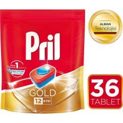 Pril Gold 36'lı  Bulaşık Makinesi Tableti