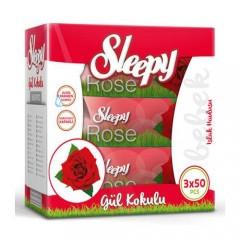 Sleepy Rose Islak Mendil 3x50 Yaprak