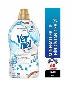 Vernel Max Mineral & Hindistan Cevizi Konsantre Çamaşır Yumuşatıcısı 1440ml