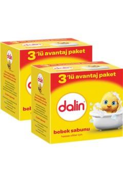 Dalin 3 'lü Sabun 3x100 gr X 2 Adet
