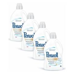 Perwoll Yenilenen Beyazlar Hassas Çamaşır Deterjanı 3 lt 4 Adet