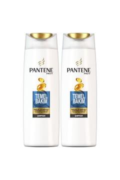 Pantene Şampuan Temel Bakım 500 Ml X 2 Adet