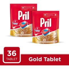 Pril Gold 36 lı Bulaşık Makinesi Tableti 2 li Fırsat Paketi (72 Tablet )