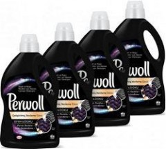 Perwoll Yenilenen Siyahlar Sıvı Çamaşır Deterjanı 1 Lt 4'lü Set