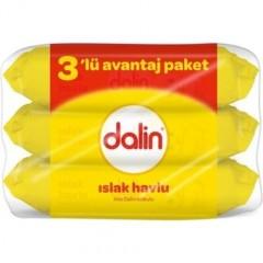 Dalin 3'lü Avantaj  Paketi Islak Mendil (3 x 56) 168 Yaprak