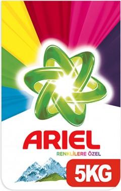 Ariel 5 Kg Toz Çamaşır Deterjanı Dağ Esintisi Renklilere Özel