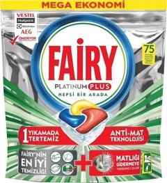 Fairy Platinum Plus Bulaşık Makinesi Tableti 75 Yıkama