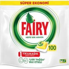 Fairy Hepsi Bir Arada Bulaşık Makinesi Tableti 100 Yıkama