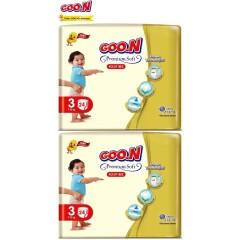 Goon Premium Soft Külot Bez 3 Beden (7-12Kg)  ( 24x2) 48 Adet