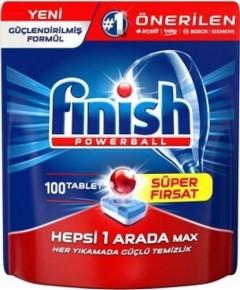 Finish Hepsi Bir Arada Bulaşık Makinesi Tableti 100 Yıkama