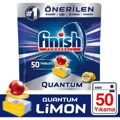 Finish Quantum Limon Bulaşık Makinesi Tableti 50 Yıkama