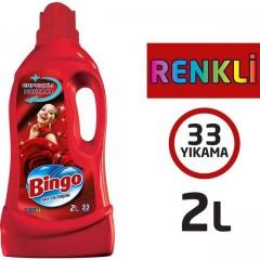 Bingo Renkli Capcanlı Koruma 2 lt 33 Yıkama Sıvı Deterjan