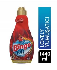 Bingo Soft Lovely Yumuşatıcı 1440 ml (60 Yıkama)