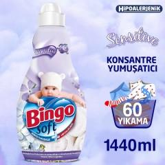 Bingo Soft Sensitive Yumuşatıcı 1440 ml (60 Yıkama)