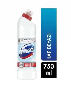 Domestos Yoğun Kıvamlı Çamaşır Suyu Kar Beyazı 750 ml