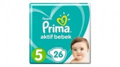 Prima Aktif Bebek 5 Numara Junior 26'lı Bebek Bezi