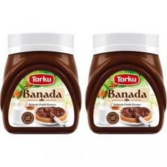 Torku Banada Kakaolu Fındık Kreması 700 gr x 2 Adet
