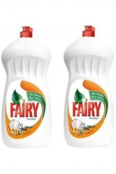 Fairy Sıvı Bulaşık Deterjanı Portakal Kokulu 1350 ml 2 Adet