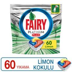 Fairy Platinum Plus Bulaşık Makinesi Deterjanı Kapsülü 60 Yıkama