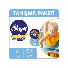 Sleepy Extra Günlük Aktivite Külot Bez 4 Numara Maxi 24'lü