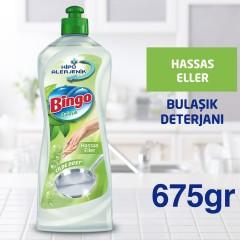 Bingo Elde Bulaşık Deterjanı Hassas Eller 675 gr