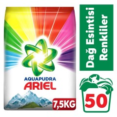 Ariel Matik 7,5 kg Dağ Esintisi Aqua Pudra Renkliler