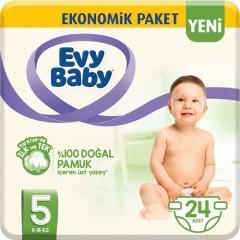 Evy Baby Bebek Bezi 5 Beden 24 Adet