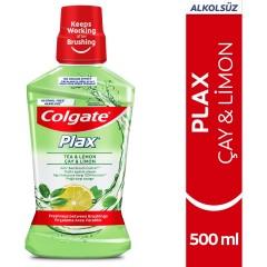 Colgate Plax Çay & Limon Ağız Bakım Suyu 500 ml