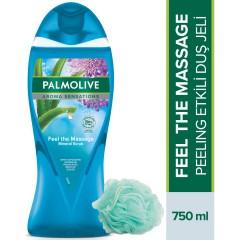 Palmolive Aroma Sensations Feel The Massage Cilt Yenileyici Banyo ve Duş Jeli 750 ml+ Palmolive Duş Lifi